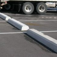 Truck Bumpers for a Parking Lot Renovation