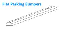 Flat Parking Bumpers
