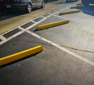 Eliminate Paint Hassles with Plastic Parking Bumpers