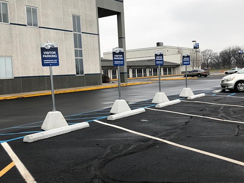 Concrete Parking Bumper Precast Concrete Barriers